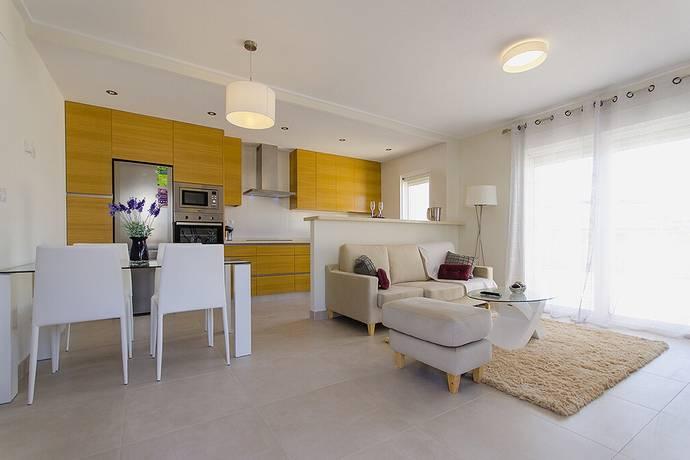 Bild: 3 rum radhus på 106 kvm Trädgård - Få kvar!, Spanien Modern markplans Bungalow