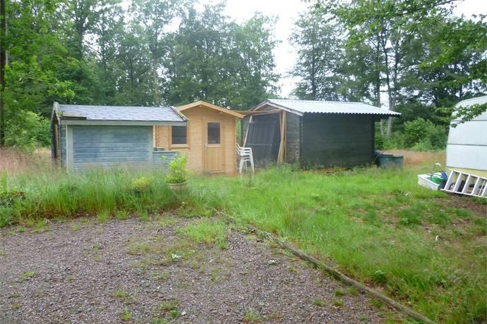 Bild: tomt på Västrarp, Örkelljunga kommun