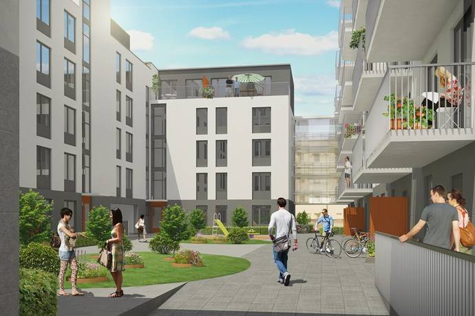 Bild 1: bostadsrätt på Almedals Terrasser - Etapp 2, Göteborgs kommun Johanneberg - Almedal
