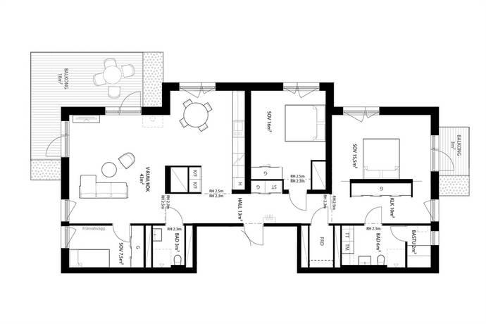 Bild: 4 rum bostadsrätt på Brf Sågverket, Knivsta kommun Centralt