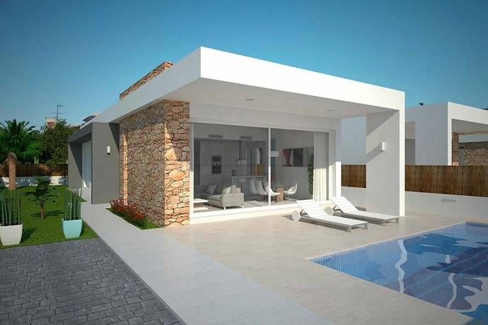 Bild: 4 rum villa på Villa centralt i Torrevieja, Spanien Torrevieja Centro, Costa Blanca