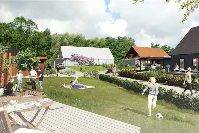 Bild: 4 rum bostadsrätt på Viggvägen 2-44, Enköpings kommun Haga Strand