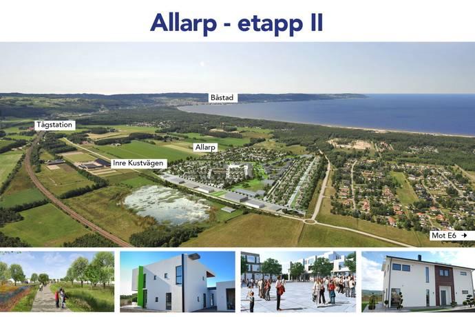 Bild: tomt på Allarp - Etapp II, Laholms kommun Skummeslövsstrand