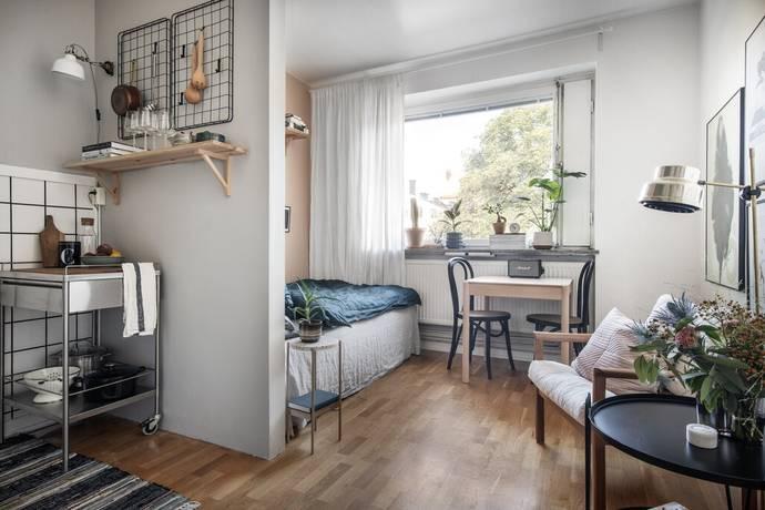 Bild: 1 rum bostadsrätt på Tjärhovsgatan 22, vån 4, Stockholms kommun Södermalm