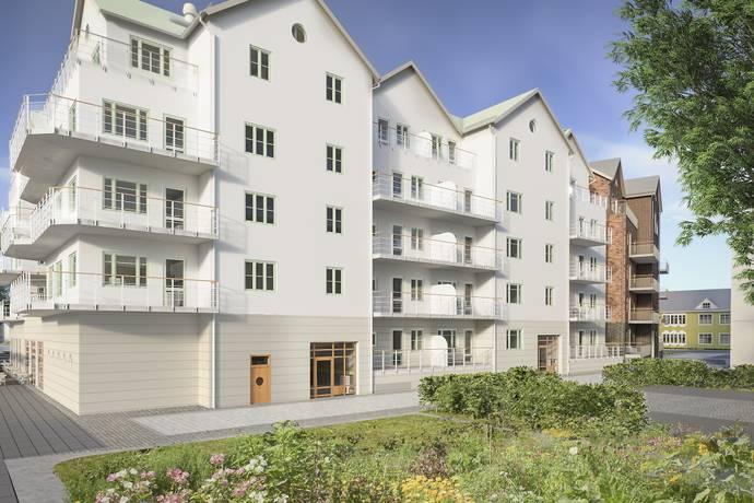 Bild: 3 rum bostadsrätt på Ångbåtsgatan 3, Norrtälje kommun Norrtälje Hamn