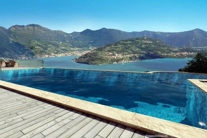 Bild: fritidshus på Lago D'Iseo, Italien Sicolo, Lake Iseo