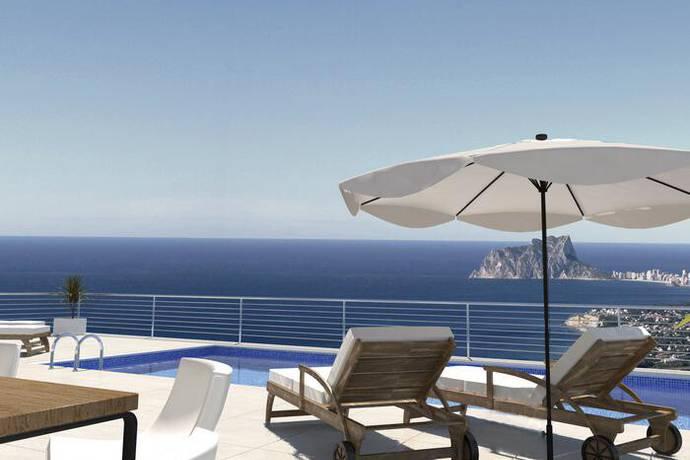Bild: 191 m² villa på Fristående lyxvilla med havsutsikt, Spanien Cumbre del Sol - Costa Blanca
