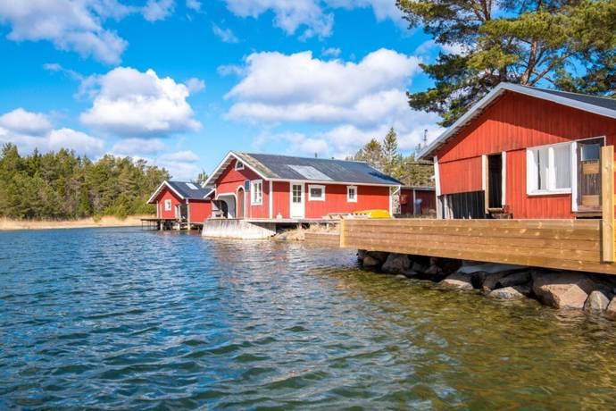 Bild: 2 rum fritidshus på Klacksörarna Oren 10, Söderhamns kommun Klacksörarna