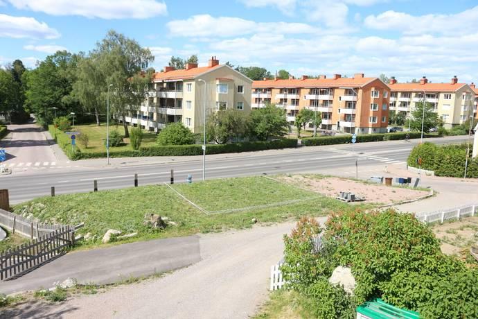 Bild: tomt på Nybomsgatan 2A, Västerås kommun Hemdal - Freja