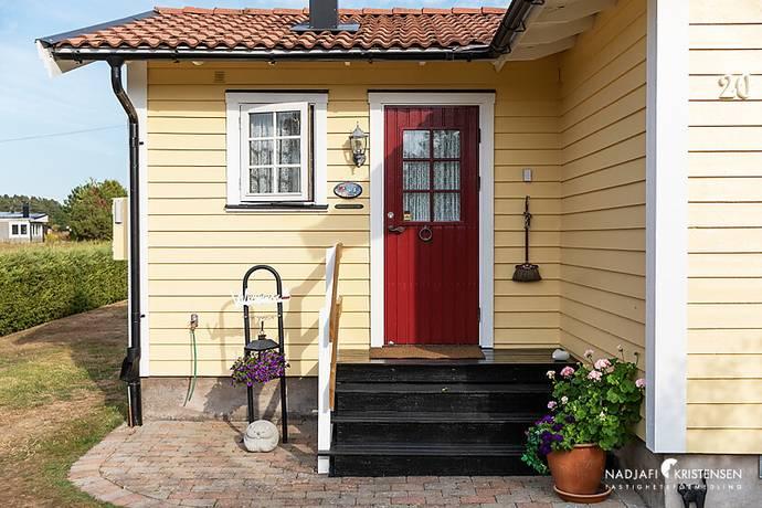 Bild: 4 rum villa på Förbindelsevägen 20, Båstads kommun Hemmeslöv