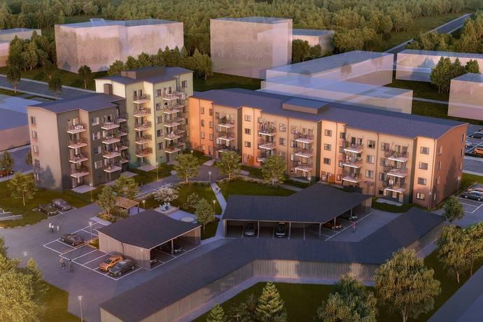 Bild: 2 rum bostadsrätt på Erikshällsgatan 18, Södertälje kommun Västergård