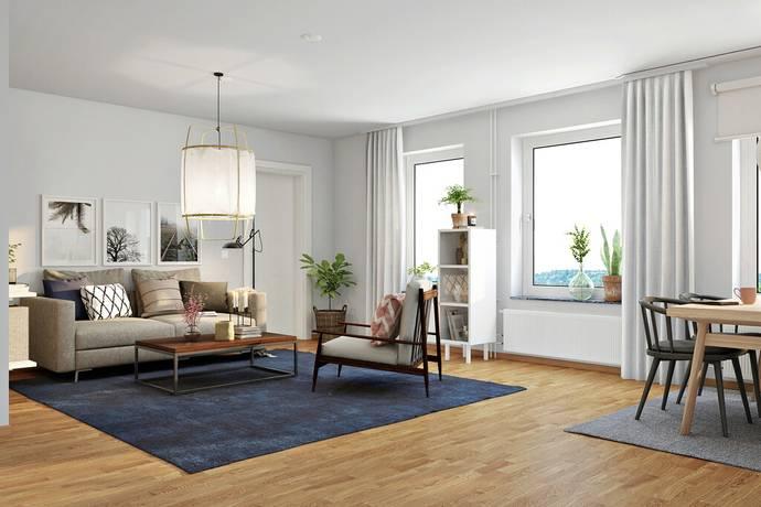 Bild: 2 rum bostadsrätt på Kungsgatan 93E - 41601, Uppsala kommun Kungsängen