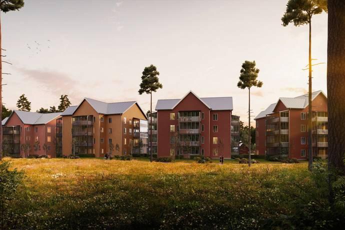 Bild: 3 rum bostadsrätt på Sanatorieskogen 17, Örebro kommun Adolfsberg