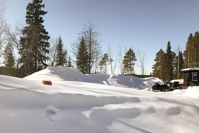Bild: tomt på Kåbdalis 157 C, Jokkmokks kommun