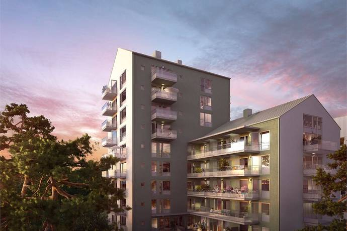 Bild: 4 rum bostadsrätt på Agnes Lagerstedts Gata 25, entréplan, Stockholms kommun Fruängen