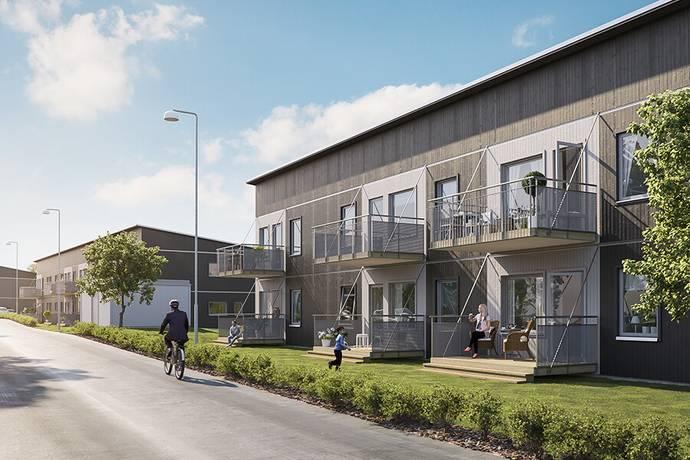Bild: bostadsrätt på BoKlok Klyvaren, Knivsta kommun Sågenområdet