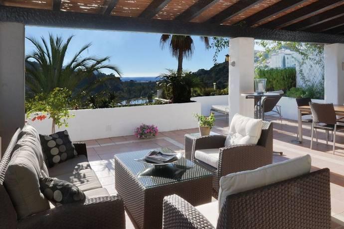 Bild: 4 rum bostadsrätt på Taklägenhet i Marbella, Costa del Sol, Spanien Marbella