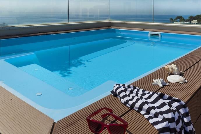 Bild: 5 rum bostadsrätt på Imponerade takvåning med terrass, Spanien Illetes   Mallorca