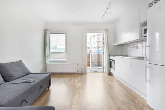 Bild: 1 rum bostadsrätt på Almbygatan 6, Stockholms kommun Spånga - Rinkeby