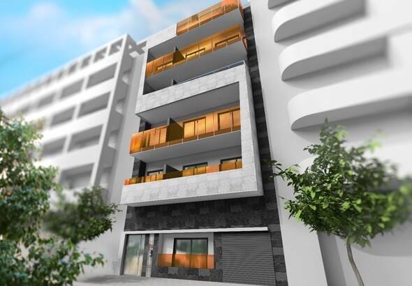 Bild: 2 rum villa på Modern lägenhetshus med havs utsikter, Spanien Torrevieja - Costa Blanca