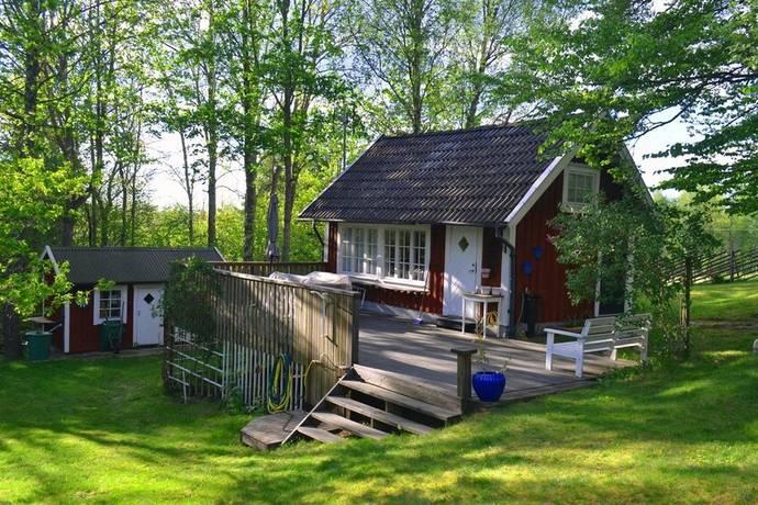 Bild: 1 rum villa på Knabbarödje 3, Växjö kommun Braås