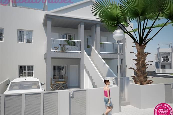 Bild: 4 rum radhus på 3 sov. 3 bad m trädgård och takterrass - Oasis Place fas 3, Spanien Costa Blanca - Playa Flamenca - La Florida