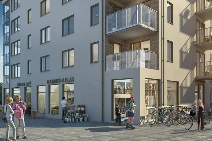 Bild: 1 rum bostadsrätt på Gjutartorget 2, Upplands-Bro kommun Kungsängen