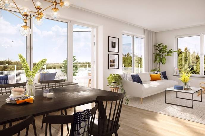 Bild: 1 rum bostadsrätt på Tussmötevägen, Stockholms kommun Stureby