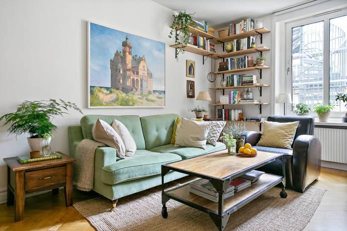 Bild: 2,5 rum bostadsrätt på Bergsundsgatan 23, 4 tr, Stockholms kommun Södermalm