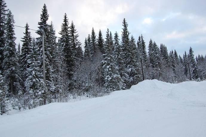 Bild: tomt på Bratteggen Huggarvägen 5, Åre kommun Bratteggen