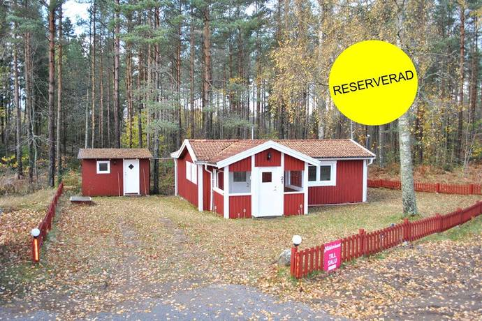 Bild: 3 rum fritidshus på Vallsjöbaden, Stuga 21, Sävsjö kommun Vallsjöbaden