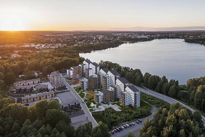 Bild: 3 rum bostadsrätt på Sjövallavägen 6 , Växjö kommun Vallen