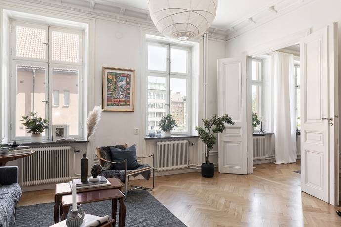 Bild: 3 rum bostadsrätt på Hälsingegatan 9, 2tr, Stockholms kommun Vasastan