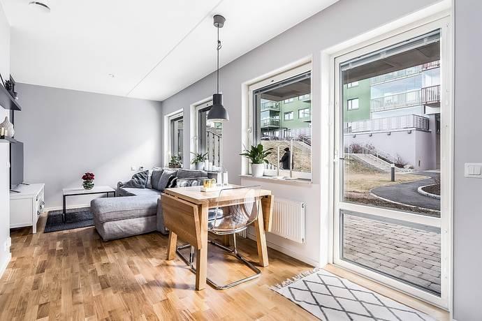 Bild: 1,5 rum bostadsrätt på Solskensgatan 5, Uppsala kommun Gränby