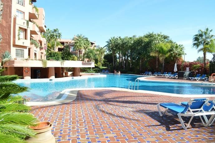 Bild: 5 rum bostadsrätt på Trädgårdslägenhet på the golden mile!, Spanien Marbella - The Golden Mile