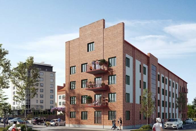 Bild: 4 rum bostadsrätt på Kvarteret Trädgårn, Svedala kommun Svedala