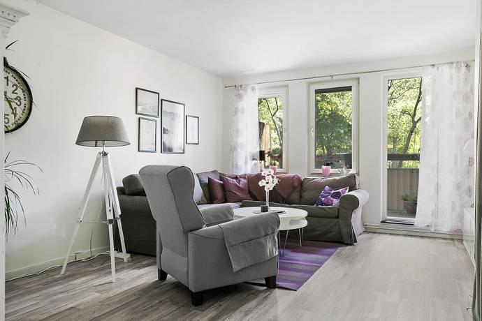 Bild: 3,5 rum bostadsrätt på Skarpövägen 3, Nacka kommun Orminge