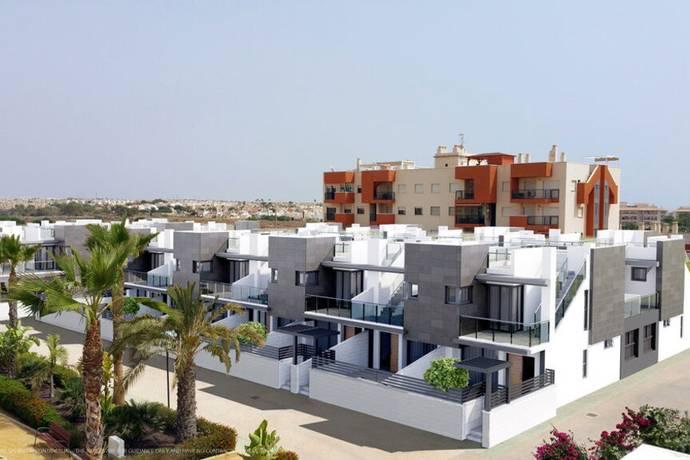 Bild: 4 rum villa på Radhus i Playa Flamenca, Orihuela Costa, Spanien