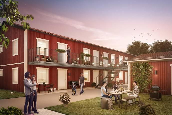 Bild: 1 rum bostadsrätt på Korsängsvägen 10 C, Norrtälje kommun Liesta