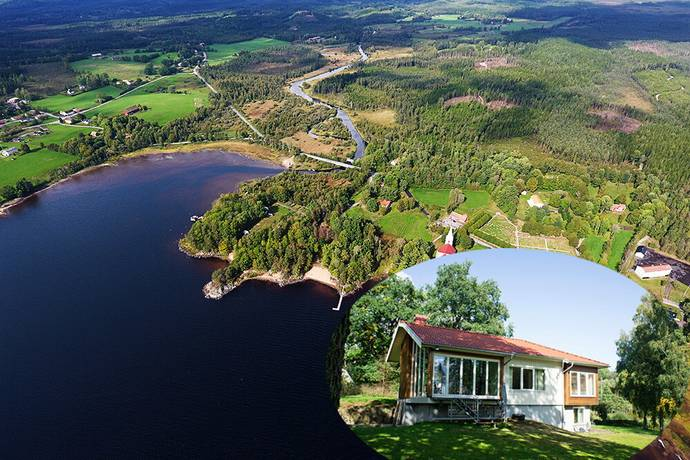 Bild: 6 rum villa på Kyrkbyn Ekhaga 1, Svenljunga kommun Gislaved, Ullared