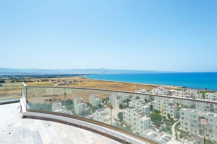 Bild: 4 rum bostadsrätt på Afrodite Village, Tower, 3 sovrum, Cypern Güzelyurtkusten