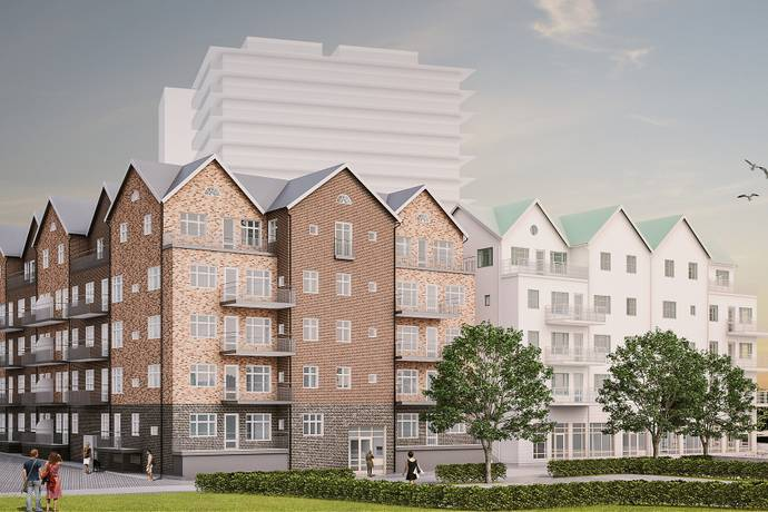 Bild: 3 rum bostadsrätt på Sjötullstorget 14, Norrtälje kommun Norrtälje Hamn