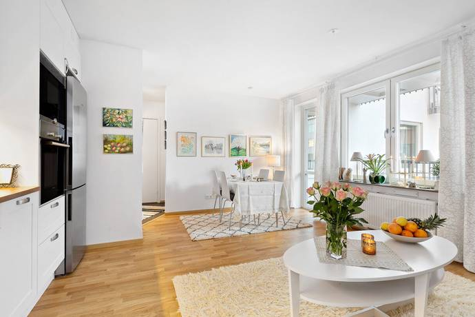 Bild: 2 rum bostadsrätt på Birger Dahlérus väg 5, Järfälla kommun Bolinder Strand