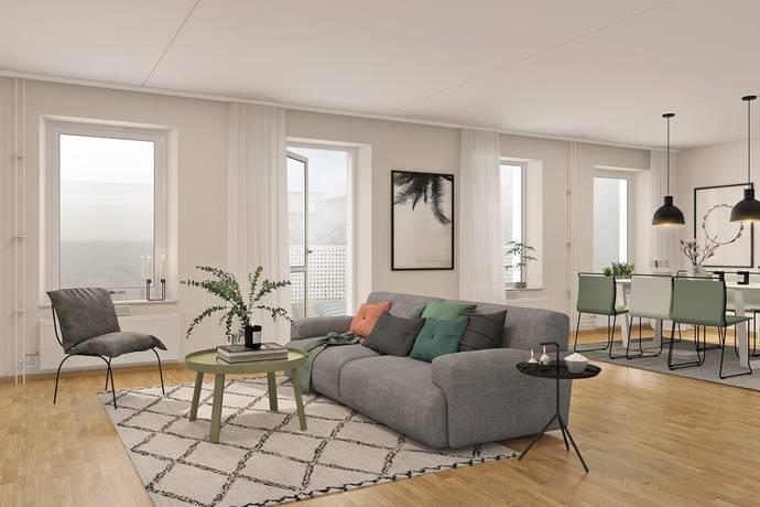 Bild: 4 rum bostadsrätt på Ingeborg Hammarskjölds Gata, Göteborgs kommun Kviberg