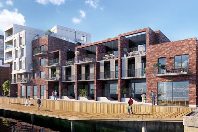 Bild: 4 rum bostadsrätt på Oceankajen, Oceanhamnen, Helsingborgs kommun