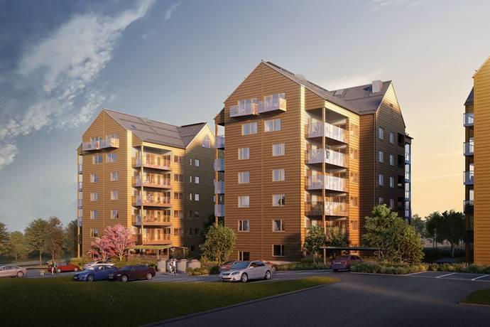 Bild: 2 rum bostadsrätt på Gösta Edströmsväg 5D, Växjö kommun Teleborg