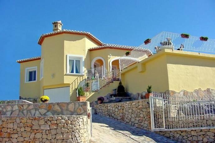 Bild: 4 rum villa på Fristående lyxvilla mellan havet och bergen, Spanien Cumbre del Sol - Costa Blanca