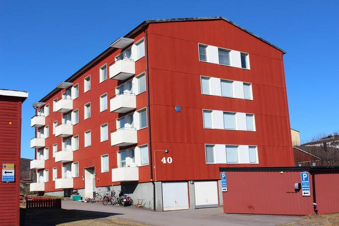 Bild: 1 rum bostadsrätt på Magnetitvägen 40, Kiruna kommun Luossavaara