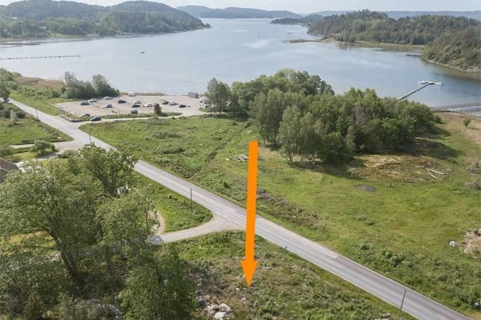 Bild: tomt på Restenäs 534, Uddevalla kommun