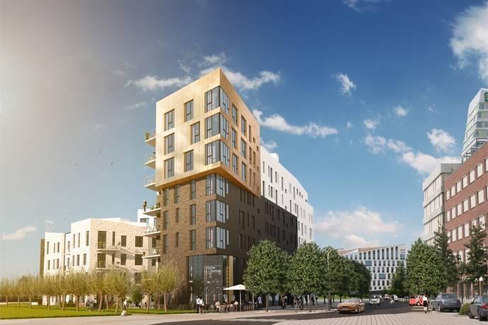 Bild: 3 rum bostadsrätt på Hyllie Corner - Nannas Gata 12, Malmö kommun Hyllie